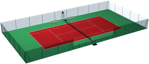 Cloture tennis cloture court de tennis grillage tennis for Revetement court de tennis