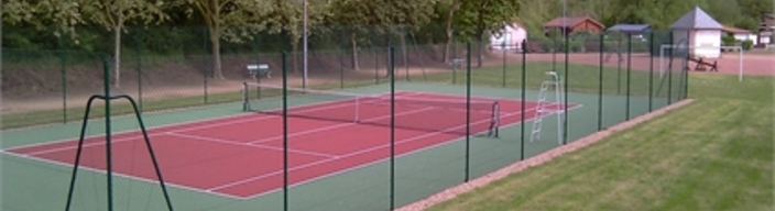 court de tennis rev tement peinture acrylovinylique cloture tennis. Black Bedroom Furniture Sets. Home Design Ideas